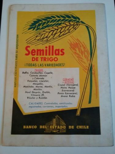 antigua revista surco y semilla abril 1961