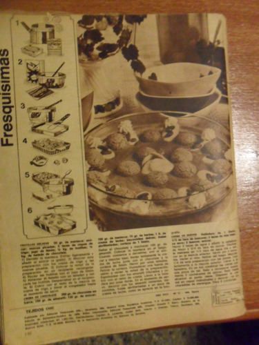 antigua revista tejidos chic 1969