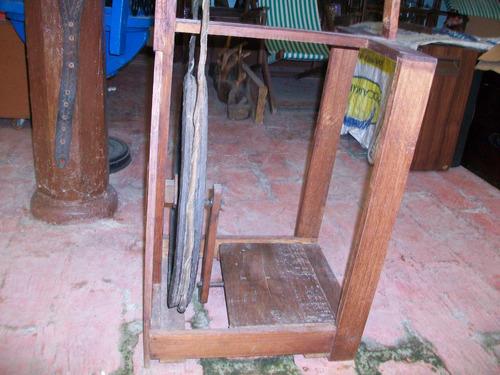 antigua rueca o máquina manual de hilar, 78 ctms.