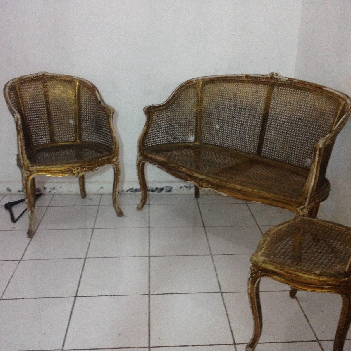 Antigua Sala Austriaca Con Bejuco 20 000 00 En Mercado Libre # Muebles De Bejuco