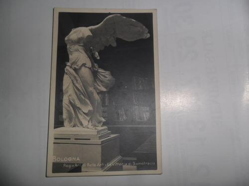 antigua tarjeta postal 1948 g vettori bologna la vittoria