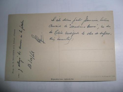 antigua tarjeta postal g ballerini 1948 pietro paolo rubens