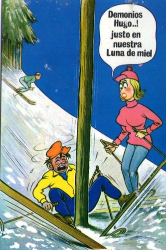 antigua tarjetas serie comica coleccionable- x 12  sin uso