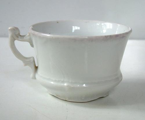 antigua taza de cafe en porcelana sellada altwasser silesia