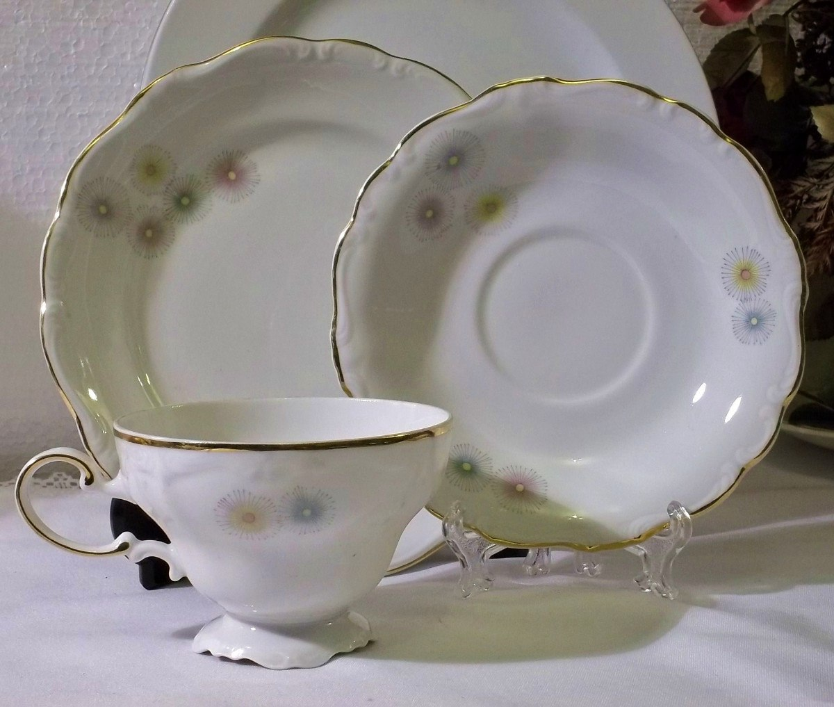 Antigua taza de t de porcelana chilena a os 60 70 28 for Tazas de porcelana