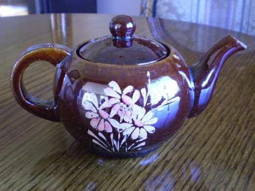 antigua teterita ceramica