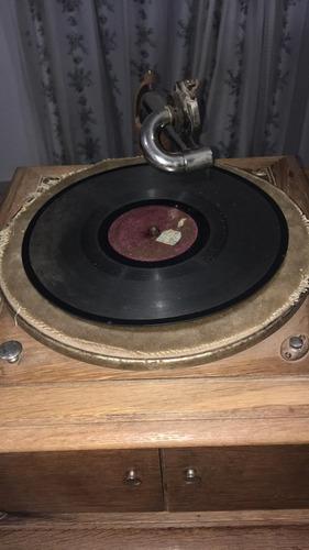 antigua victrola rca victor gramofono fonografo