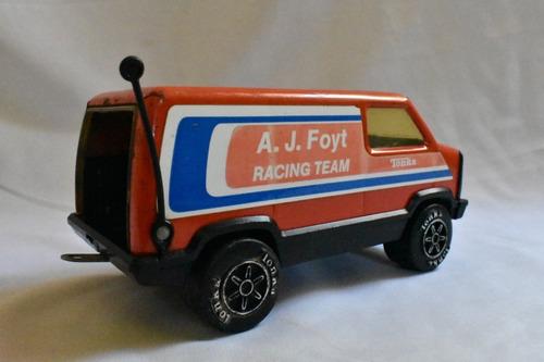 antigua vintage camioneta de mclaren racing  tonka