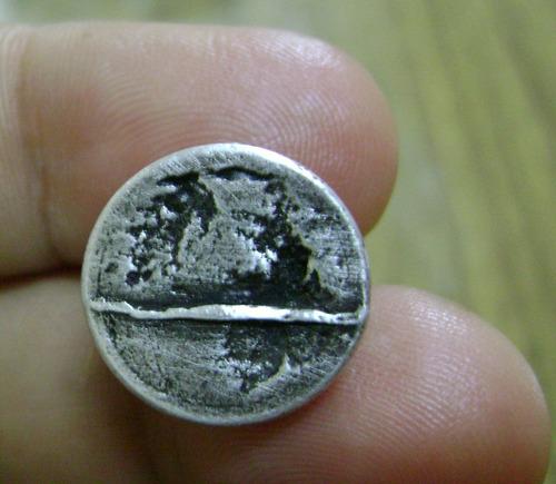antigua virgen de lujan de plata sello italy