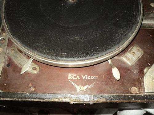 antigua vitrola  victor
