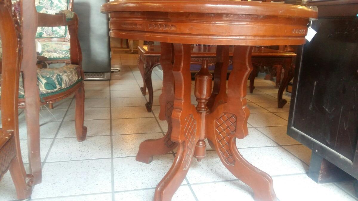 Antigua y hermosa mesa para recibidor en cedro for Mesa para recibidor