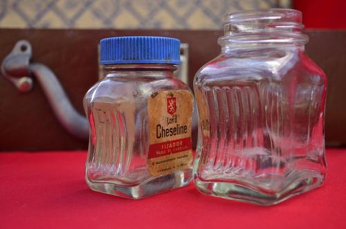 antiguas botellita fijador lord cheseline farmacia vintage