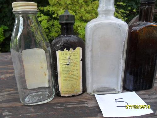 antiguas botellitas frascos remedio farmacia agarol loción