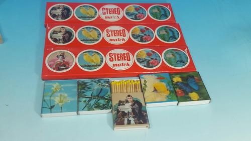 antiguas cajas de 5 fosforos japonesas  3 d 1960  encaja