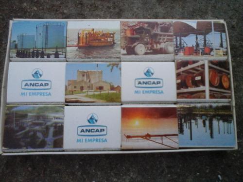 antiguas cajas fosforos coleccion ancap $ 399