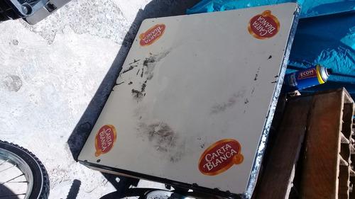 antiguas cubiertas de mesa carta blanca corona superior 7up