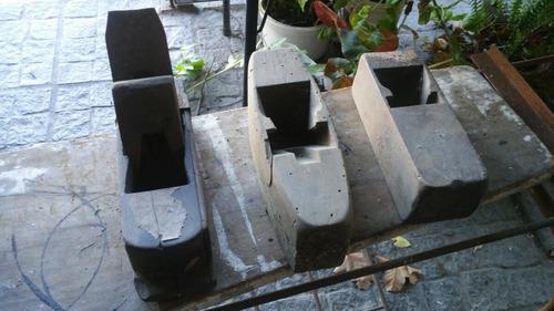 antiguas garlopas de carpintero vintage deco
