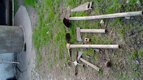 antiguas herramientas