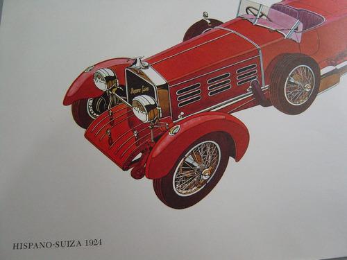 antiguas láminas los 10 carros más bellos del mundo