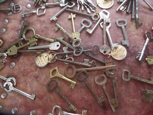 antiguas llaves metalicas desde 4 soles cada una