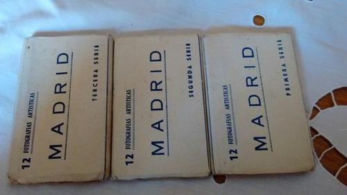 antiguas postales de madrid 36 fotos 3 álbumes