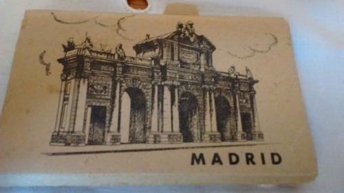 antiguas postales de madrid recuerdo viajes