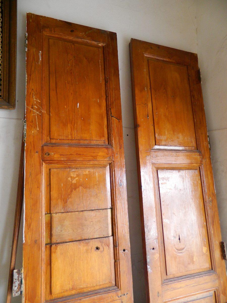 Antiguas puertas de hacienda hechas de pino precio de desc for Precio de puertas plegables