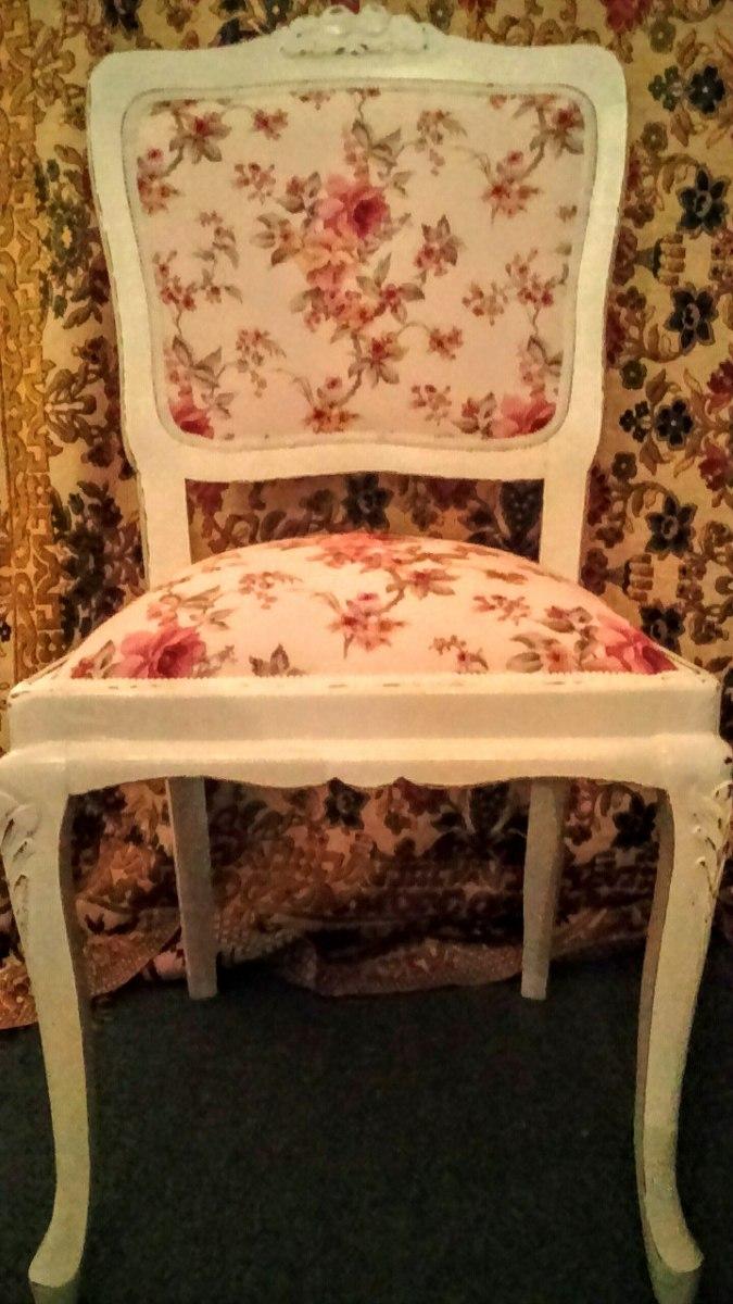 Antiguas sillas francesas restauradas solo por encargue - Sillas antiguas restauradas ...