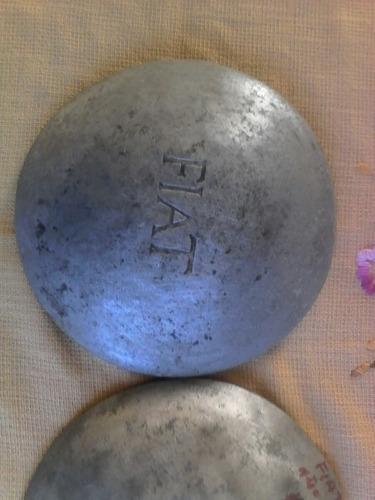antiguas tapas de ruedas fiat topolino año 37 al 48