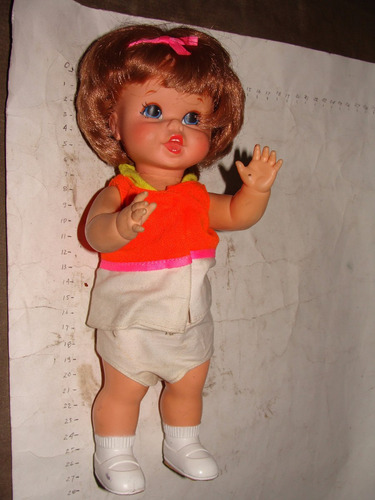 antiguedad muñeca mattel año 1967