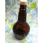 Mundo Vintage: Antigua Botella Licor Color Caramelo Tapa Bfk