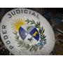 Antigua Chapa Esmaltada Poder Judicial
