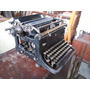 Ev Antigua Maquina De Escribir Continental De Metal