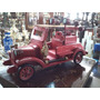 Carro De Bomberos En Madera Tipo Antiguo De Coleccion