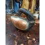 Cisne Antiguo Hindu Madera Bronce Y Cobre