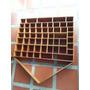 Repisa Para Miniaturas Antigua En Madera Cedro 56 Espacios
