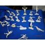 20 Muñecos Plásticos Antiguos De Colección Deportes