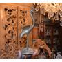 Escultura De Bronce Modelo Pavo Real.