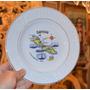 Plato De Porcelana Decorativo De Curacao / Curazao