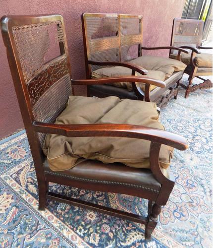antiguedades juego sillones