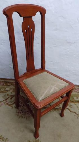 antiguedaes venecia increible juego de 12 sillas antiguas