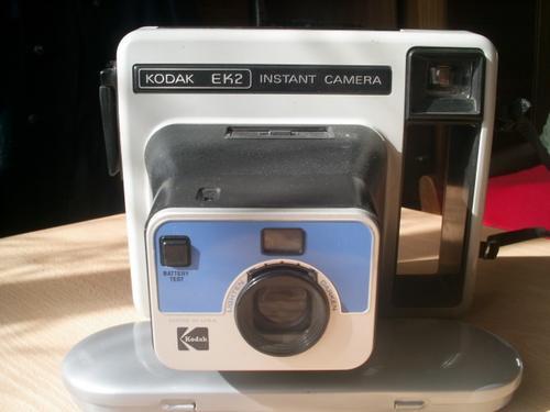 antigüed,maq.kodak ek2- fotos instant  p/adorno o colección
