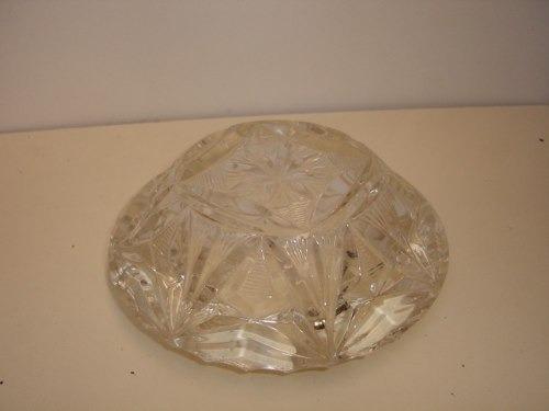 antiguidade enfeite centro mesa crystal  art déco  detalhada