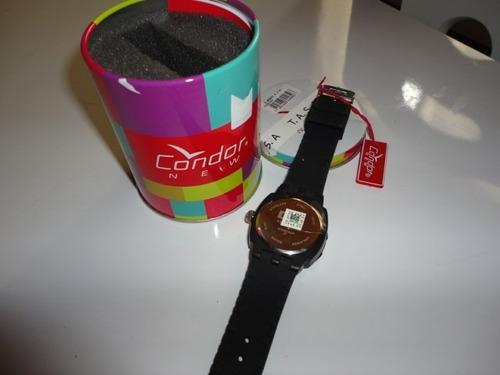 antiguidade rara relógio condor new 3atm