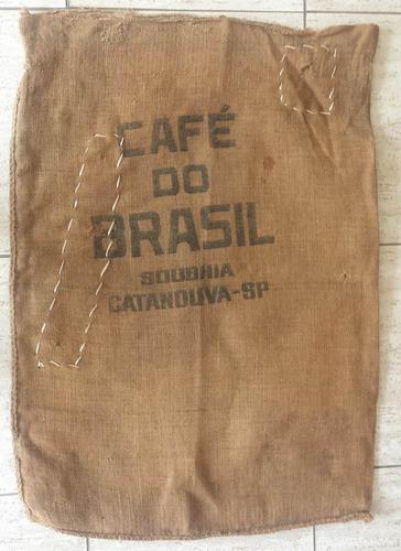 antiguissimo saco de estopa anos 50