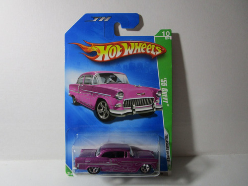 antiguo 55 chevy th r 2009 hot wheels g1