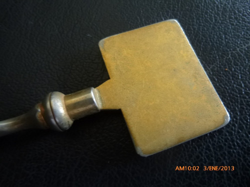 antiguo abre cartas promoción te supremo  metal y ceramica