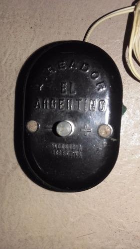 antiguo aireador para peceras * el argentino* baquelita