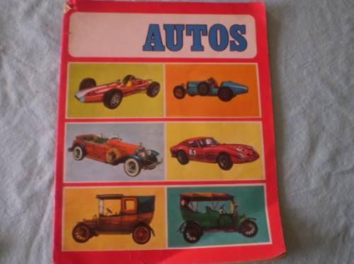 antiguo album  autos ediciones susaeta sa (r624