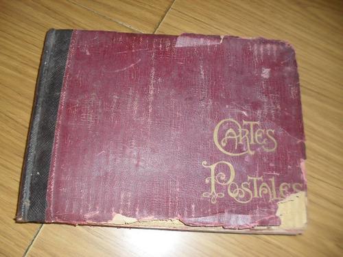 antiguo album con 436 postales de francia  años 1905/35